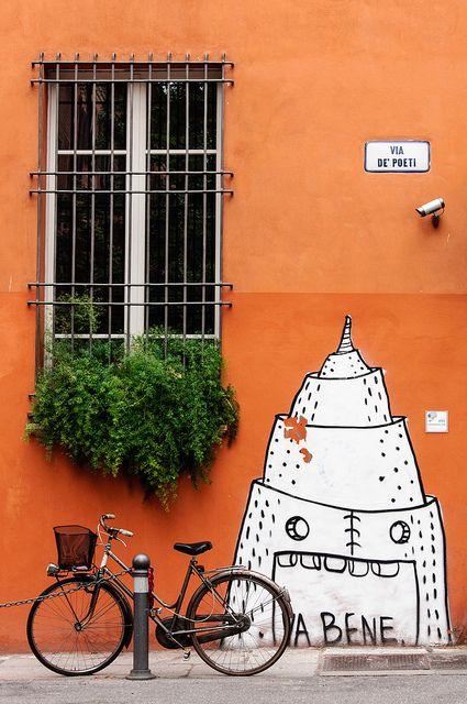 Street art, Bologna