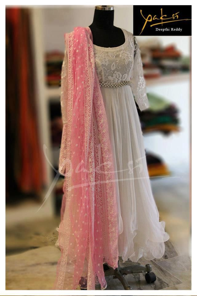 White + Pink