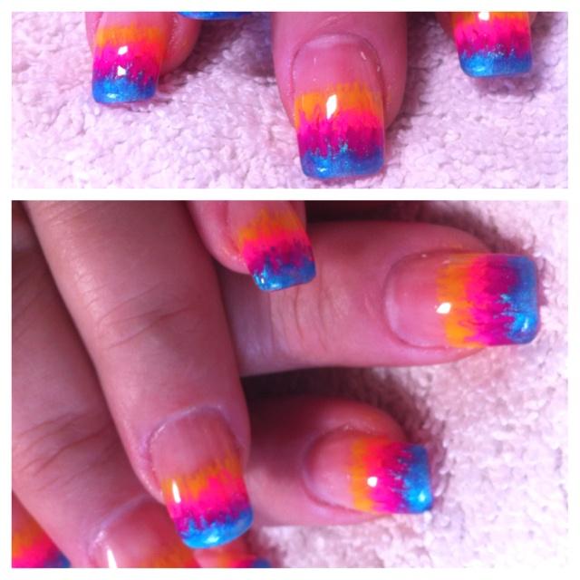 Colorful nails art!