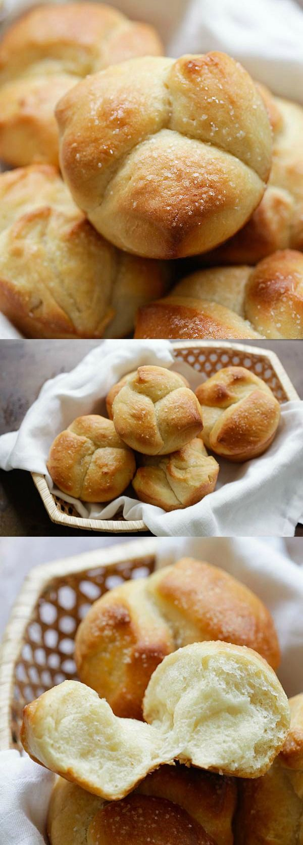Milk Bread – Japanese-inspired milk bread that is cotton soft, sweet and delicious. Using roux method, this milk bread recipe is a keeper | rasamalaysia.com