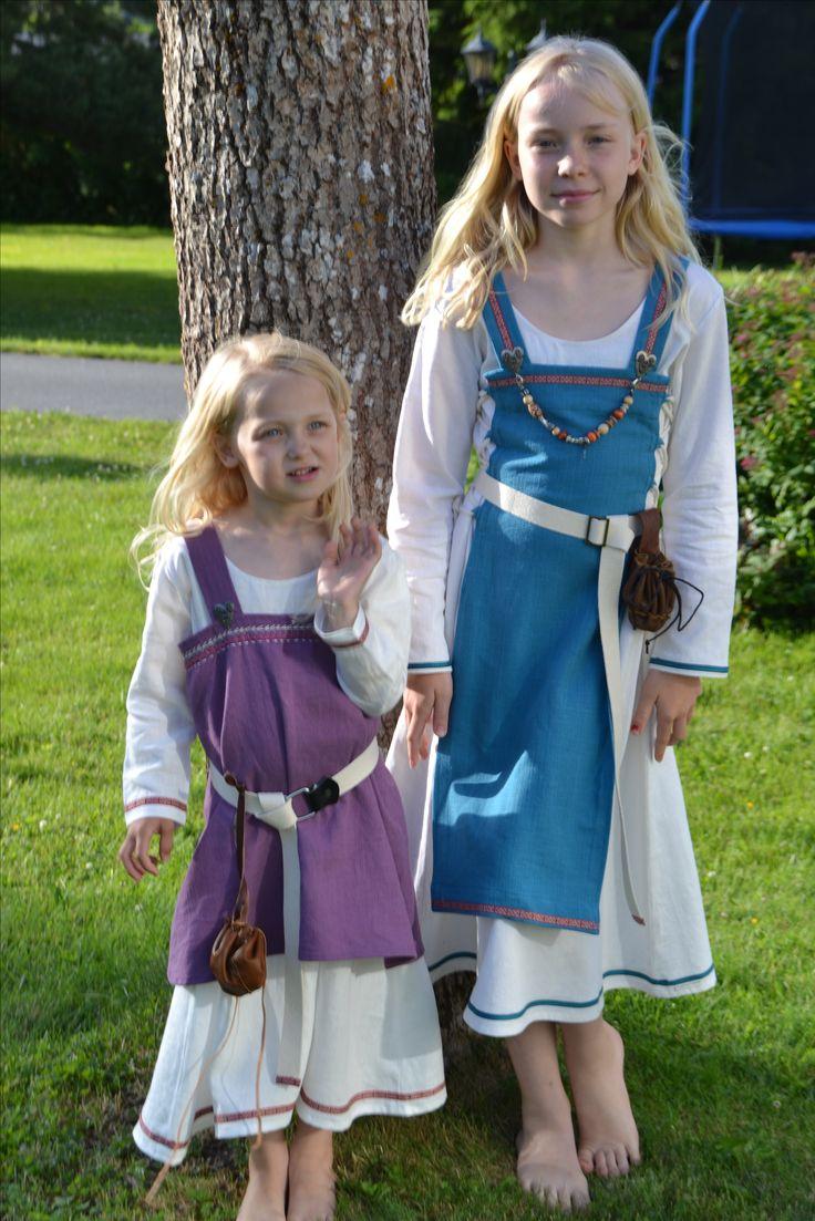 Vikingkjoler til småjenter
