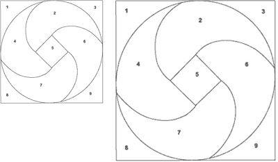 how to make a pinwheel scrapbooking