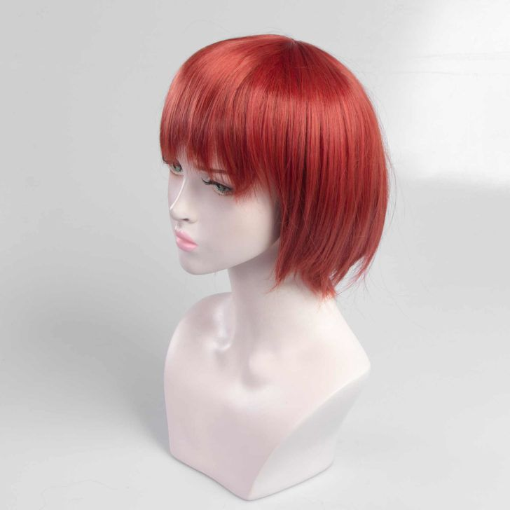 Red Short Hair Wig Hairstyles Theme Wig Hairstyles Short Hair Wigs