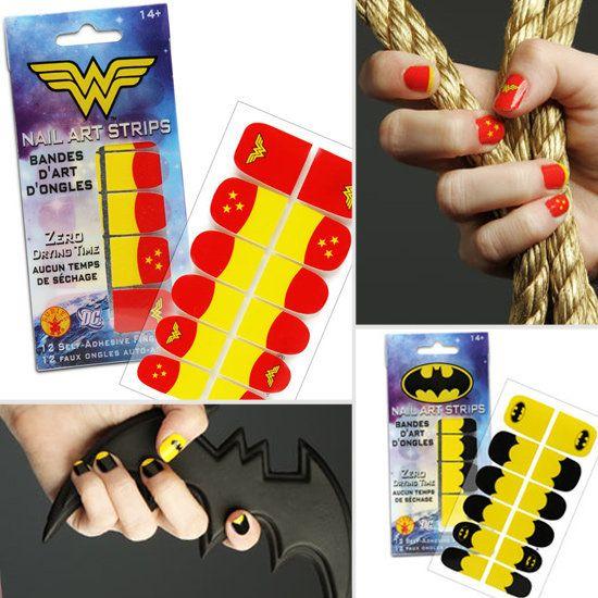 Avengers Nail Art Stickers: 1000+ Ideas About Superhero Nails On Pinterest