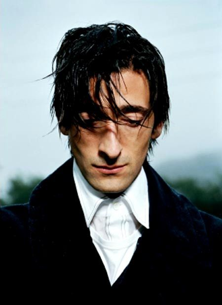 adrien brody. expression:  long ago and far away, saw something he could never forget.