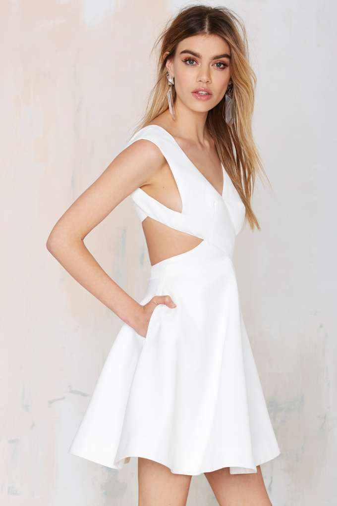Finders Keepers Glory of Love Cutout Dress - Day | Going Out | Fit-n-Flare | LWD | Dresses | Clothes | All | Finders Keepers