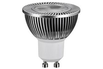 4W LED Spotlight Bulb - an energy saving replacement for a halogen bulb, equivalent to 20W and lasts for 25 years - so you can put away your step ladder for a long, long time. £15.95