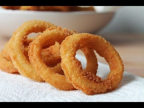 Quick easy onion ring batter recipe