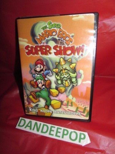 The Super Mario Bros Super Show! King Koopa Katastrophe DVD Movie #SuperMarioBros #KingKoopaKatastrophe #dandeepop #Bonanza