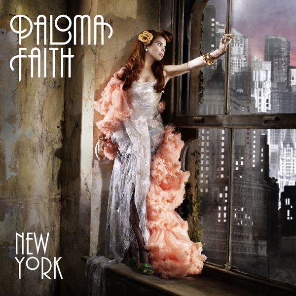 "Paloma Faith's gorgeous cover design for single ""New York"""
