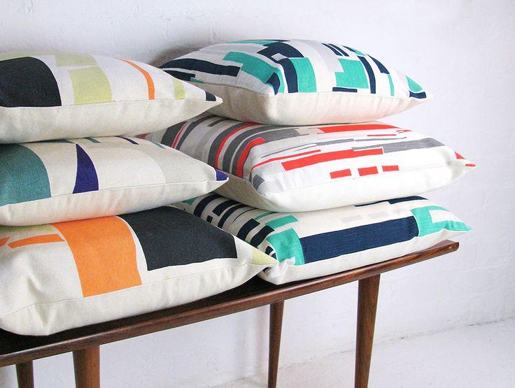 Tamasyn Gambell | Paper Scissor Cushions | www.tamasyngambell.com