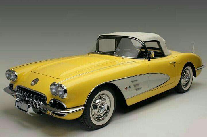 New Look Classic Cars Yellow Corvette Classic Cars Trucks