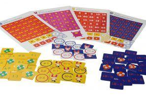 Drempelspellen: korte spellen voor het automatiseren van de basisvaardigheden rekenen. Optellen en aftrekken tot 10, over het tiental en vermenigvuldigen