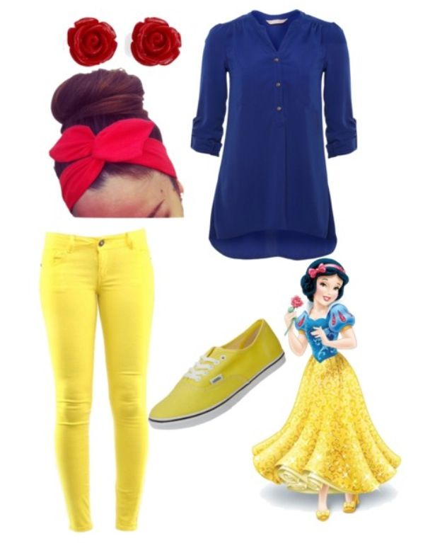 Dress like snow white