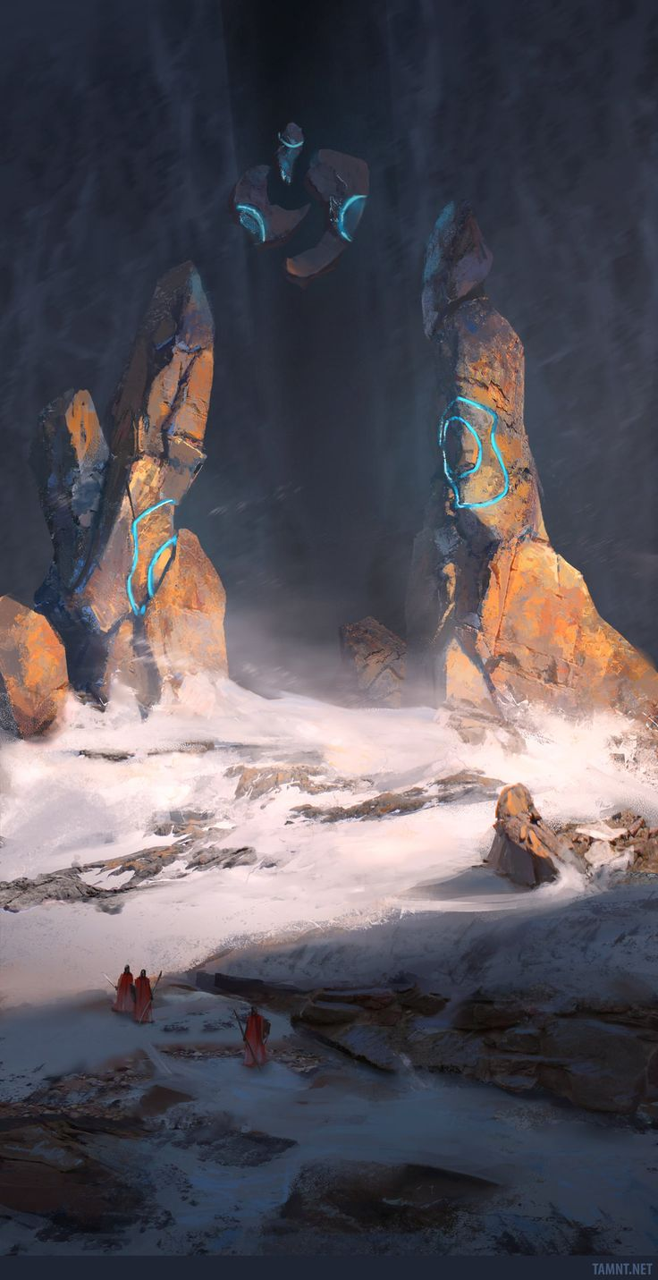 ArtStation - The New Land's Gate, Tam Nguyen (Tamnt)