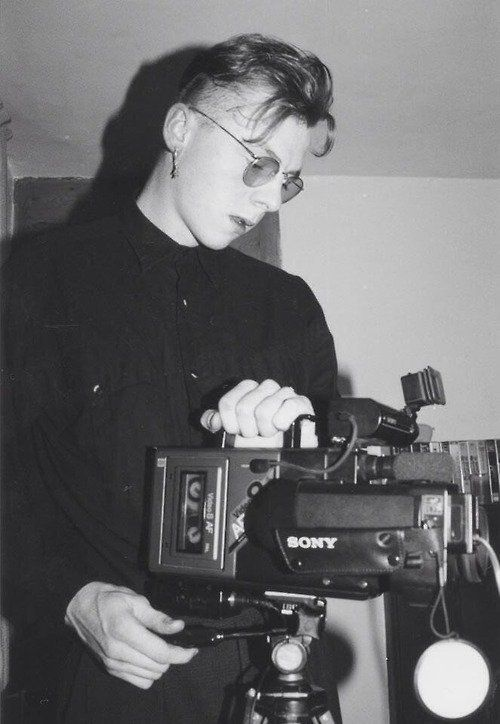 19-летний Саймон Пегг и камера, 1989 год