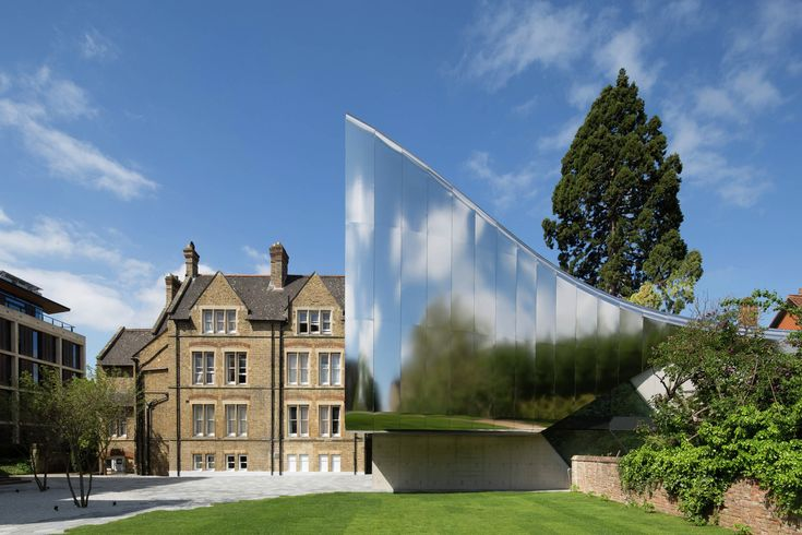 Gallery - Zaha Hadid's Investcorp Building Honored with Oxford Preservation Trust Award - 1
