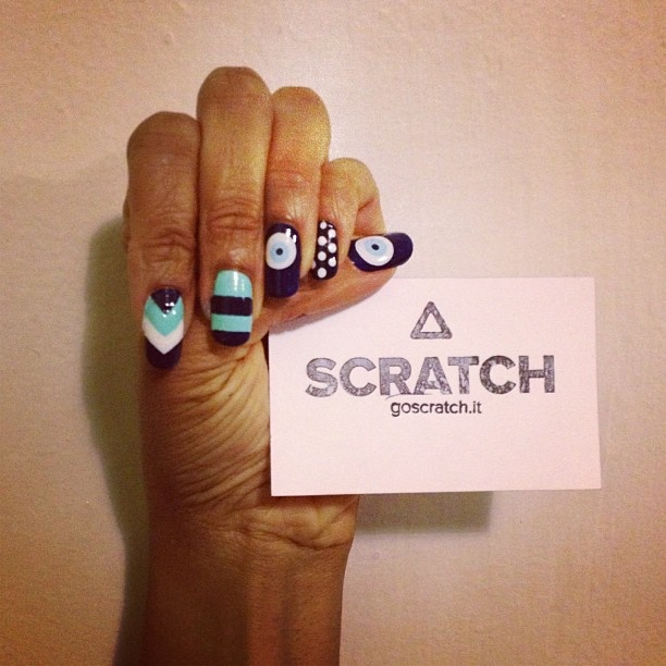 mix & match nails with our evil eye wraps