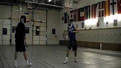 Gia Kvaratskhelia fencing lesson - YouTube