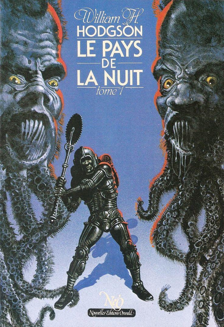 Night Land Pays De La Nuit William H Hodgson 2x SC PB French Ed