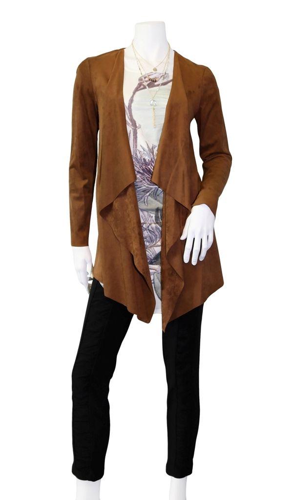 Loving this Joseph Ribkoff suede jacket @bellissima.fashions