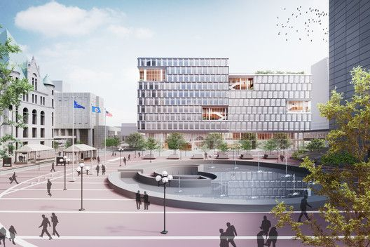 Gallery Of Henning Larsen Brings A Scandinavian Design Approach To The City Of Minneapolis 2 In 2020 Henning Larsen Urban Design Concept Concept Architecture