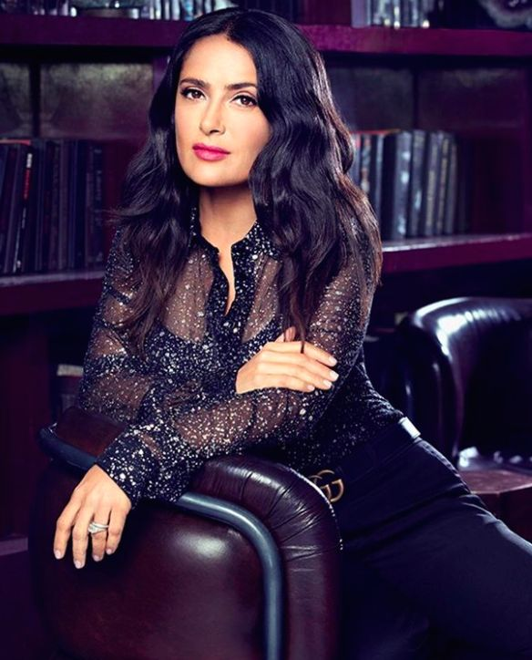 Salma Hayek, Photographed by Elisabeth Caren for TheWrap.