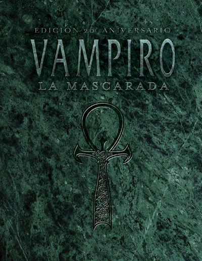Vampiro La Mascarada 20º Aniversario, DracoTienda - Juegos de Rol, Miniaturas, Juegos de Tablero, Juegos de Cartas, Libros...