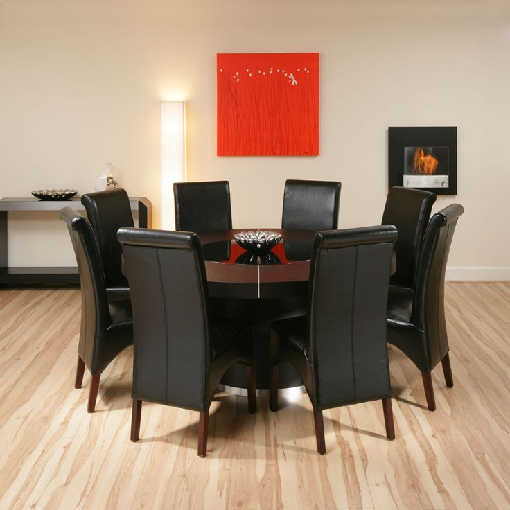 Best 25+ Large round dining table ideas on Pinterest   Round ...