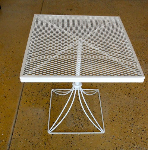 Homecrest Mid Century Patio Side Table Sold On EBay For $86.00 (27 Bids)