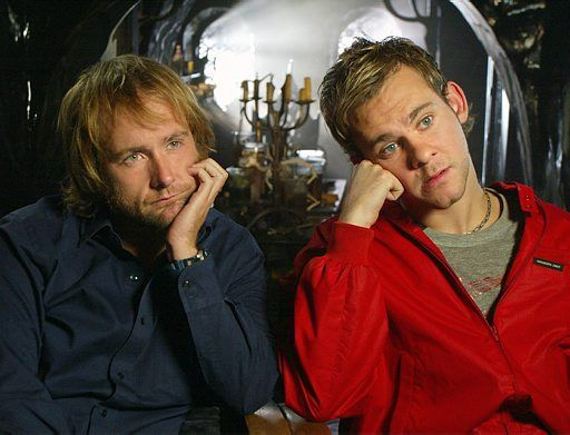 Billy Boyd and Dominic Monaghan These two just make me smile when every I see them =D