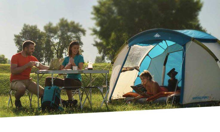 Matériel de camping Avec cette tente, vous serez protégé de la pluie et du froid durant la nuit.