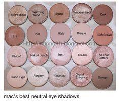 Neutral Eyeshadow from Mac