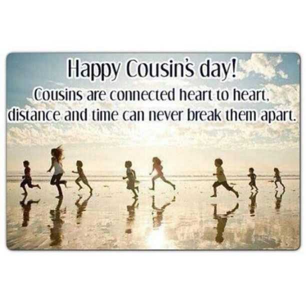 As we all know, today is 24 july 2016 and this day is celebrated as Cousins Day every year. Description from dekhnews.com. I searched for this on bing.com/images