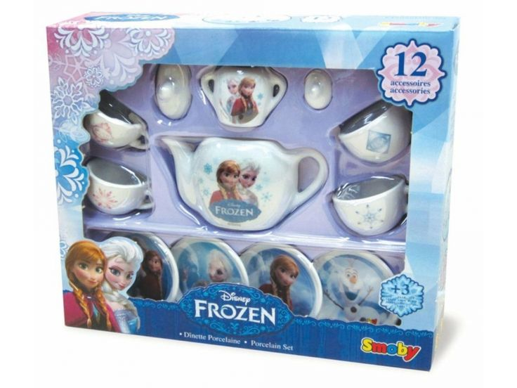 Smoby Porcelana Frozen - AGD dla dzieci - Sklep internetowy - satysfakcja.pl
