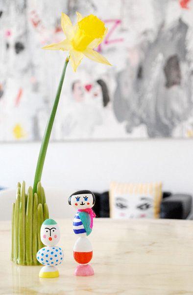 DIYnstag: 9 Ideen fürs Osterbasteln mit Kindern | Foto von Mitglied philuko #SoLebIch #DIY #basteln #handicraft #easter #ostern #easteregg #osterei