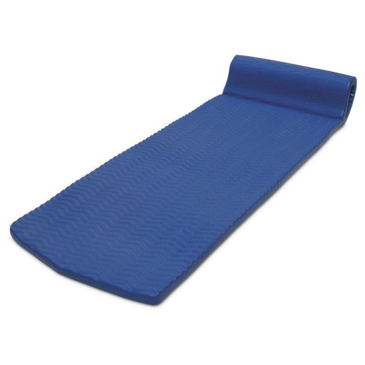 Poolmaster Soft Tropic Comfort Mattress - Blue