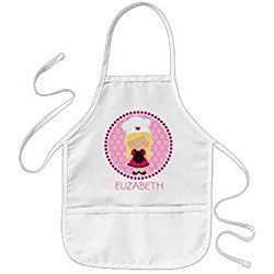 sunningq Little Baker Kids Personalized Aprons Party Favors