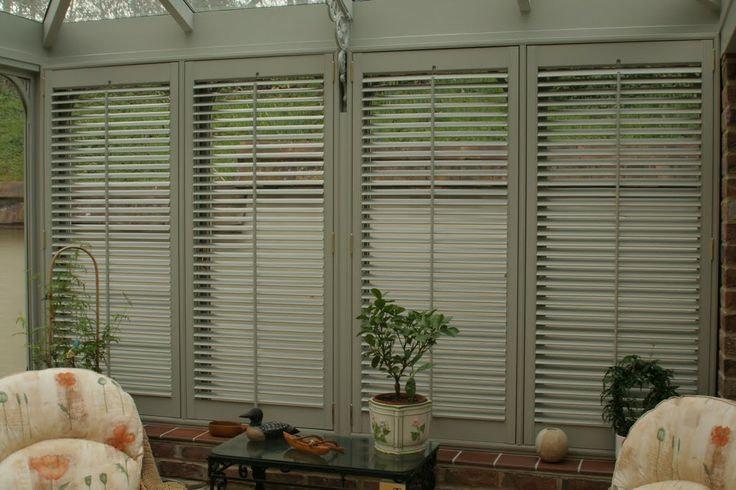 17 best images about conservatory shutters on pinterest for Alternative to plantation shutters