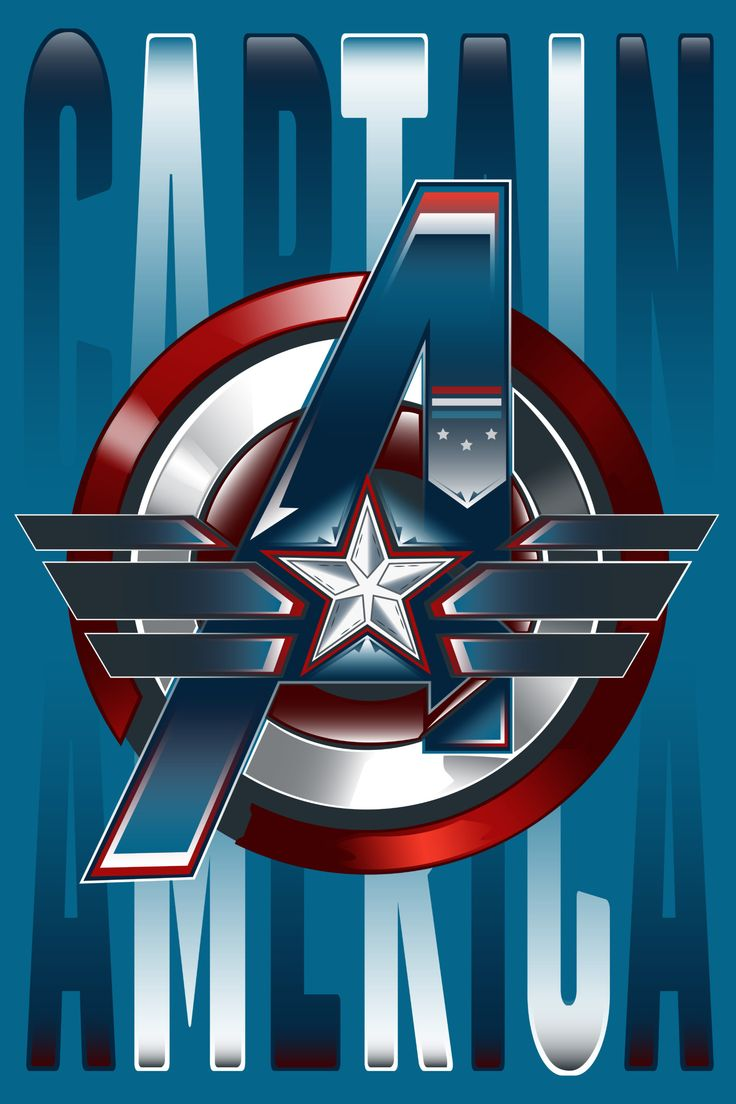 Captain America :: Poster for first Avenger by Sam Harachis