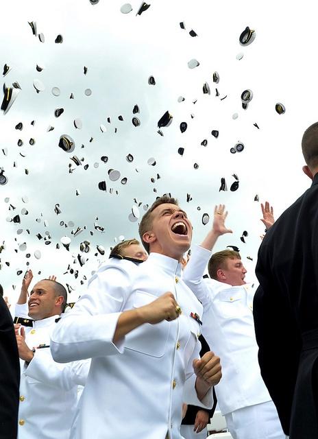 Naval Academy Graduation by US Navy, via Flickr
