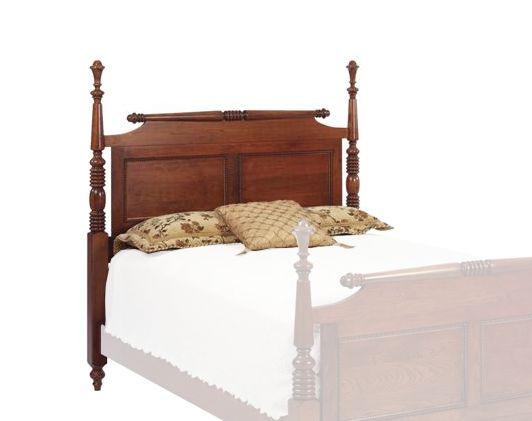 Fur Elise Rolling Pin Bed Headboard Only Solid Wood Bedroom Furnitureamish