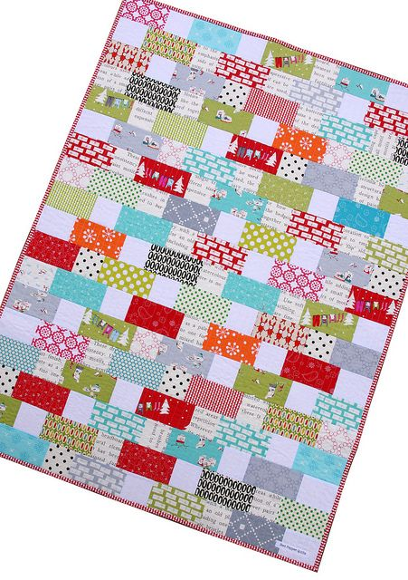 Red Pepper Quilts: A Cherry Christmas Quilt