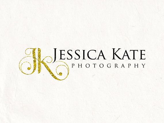 88 best photography business cards images on pinterest photography photography logo glitter initials logo watermark diy logo instant download diy logo psd template reheart Images
