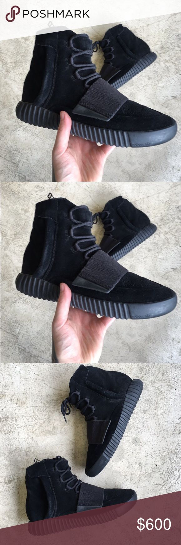 Yeezy Boost 750 Pirate Black 9/10 condition worn a handful of times Yeezy Shoes Sneakers