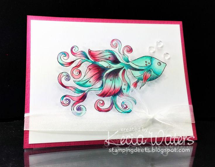 CC589 Guest Designer sample- Kecia's card