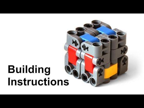 Lego Magic Folding Cube (Fidget Toy) Building Instructions - YouTube