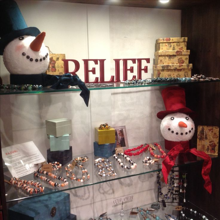 Reliefbyjunker.dk Christmas decorations in our shop.