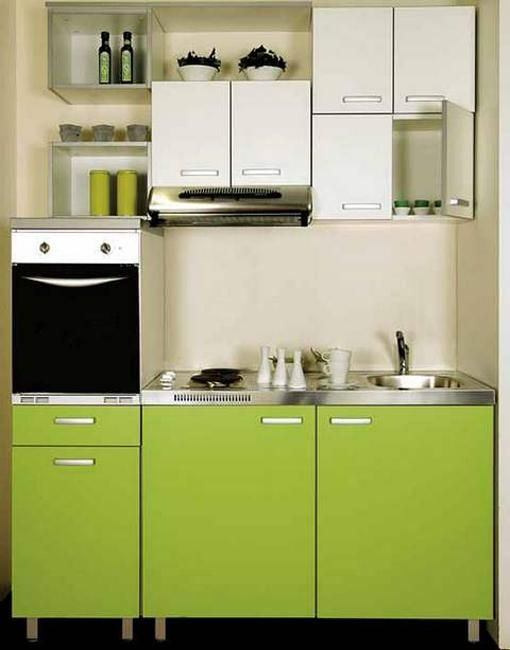 Small kitchens and space saving ideas to create ergonomic for Small kitchen space saving ideas