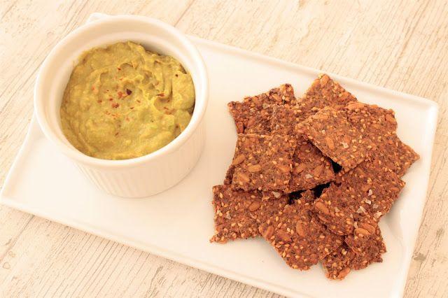Recomiendo by Pola & Cleme: Crackers de semillas